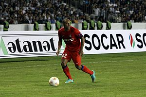 Jonathan Moreira - Jonathan in a Europa League match.