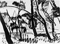 Nemes Lampérth Scene in the City Garden 1912.jpg