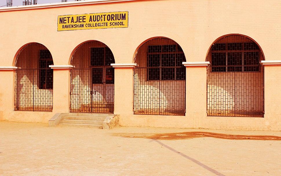 Netaji auditorium ravenshaw collegiate school