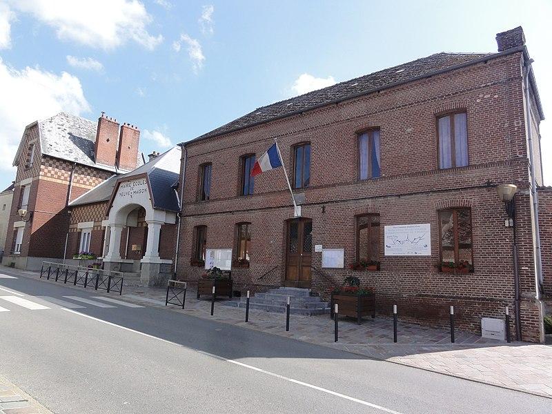 Neuve-Maison (Aisne) mairie-école