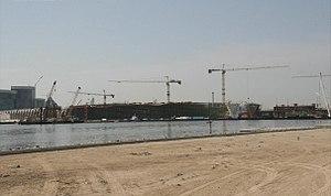 Al Garhoud Bridge - Image: New Al Garhoud Bridge Under Construction on 31 January 2007 Pict 6