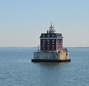New London Ledge Light - New London Ledge Light in 2011