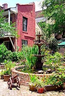 Hotel Maison De Ville Courtyard Garden.