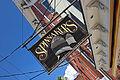 New York. East Hampton. Sag Harbor. Spinakers Restaurant sign (4255396926).jpg