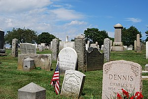 Cemetery - Common Burying Ground and Island Cemetery in Newport, Rhode Island