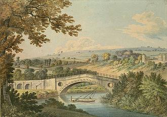 Newbridge, Bath - The New Bridge in 1806