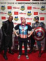 Nick Fury and Captain America in New York Comic Con 2013.jpg