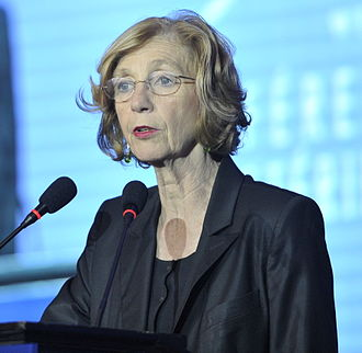 Nicole Bricq - Nicole Bricq at a World Trade Organization conference in Bali, December 2013