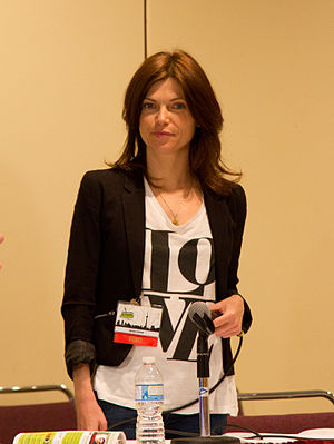Nicole de Boer - De Boer at Toronto Comicon in 2012.