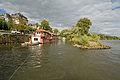 Niddamuendung Woerthspitze Hausboote DSC 4101.jpg