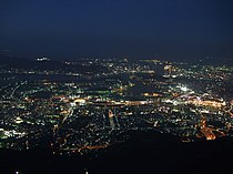 Night view from Sarakurayama.jpg