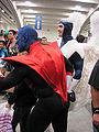 Nightcrawler & Archangel cosplayers at WonderCon 2010 1.JPG