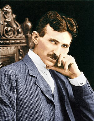 Nikola Tesla color