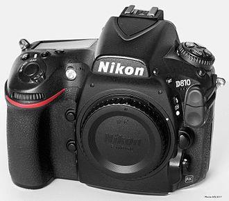 Camera - A 2016 Nikon D810