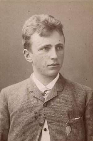 Nils Vogt (journalist) - Nils Vogt in the 1880s