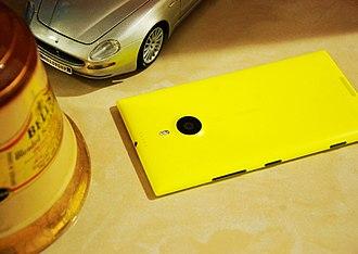 Nokia Lumia 1520 - Image: Nokia Lumia 1520 reverse side