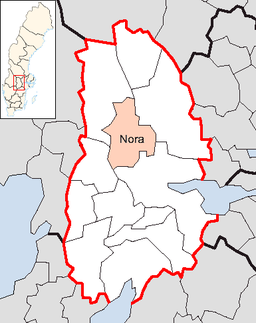 Nora Municipality in Örebro County.png