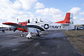 North American T-28B Trojan Navy N63NA LSide TICO 13March2010 (14412926269).jpg
