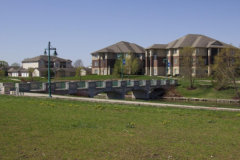 The population density of North Liberty in Iowa is 583.25 people per square kilometer (1511.19 / sq mi)