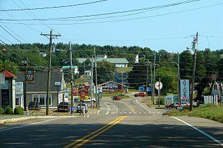 North Rustico Town in Prince Edward Island, Canada