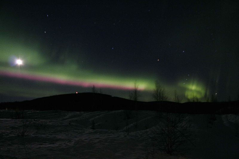 File:Northern lights Alaska aurora borealis lights at night.jpg