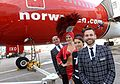 Norwegian Air Shuttle celebrates launch of Gatwick–Las Vegas flight 3.jpg