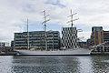 Norwegian Tall Ship, S-S Statsraad Lehmkuhl - Dublin Docklands 03.jpg