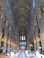 Notre Dame nave 1, Paris June 2014.jpg