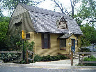 Kensington, Maryland - The Noyes Library, Montgomery County's oldest library, is located in the Kensington Historic District