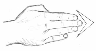 Strike (attack) - Spear hand