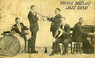 Original Dixieland Jass Band American jazz band