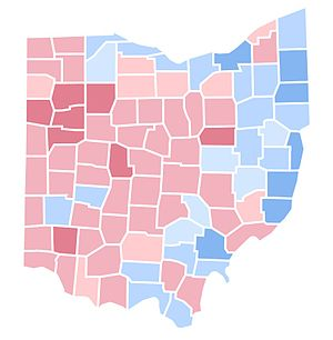United States presidential election in Ohio, 1992 - Image: OH1992