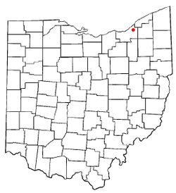 Location of South Euclid in Ohio