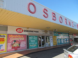 IGA (Australian supermarket group) - Osborne Park Shopping Centre closeup