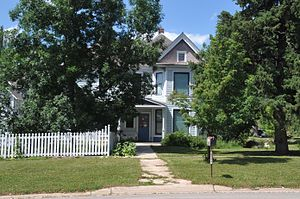 National Register of Historic Places listings in Lawrence County, South Dakota - Image: OLIVER N. AINSWORTH HOUSE, SPEARFISH, LAWRENCE COUNTY, SD