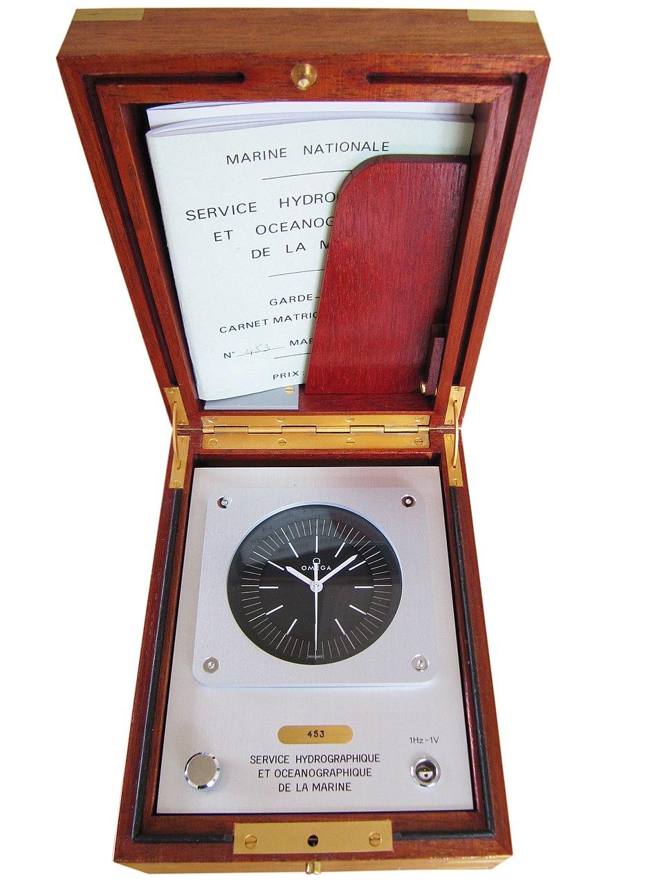 OMC ships clock
