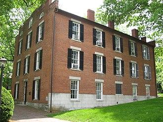 William Holmes McGuffey - McGuffey Hall at Ohio University, named for William McGuffey