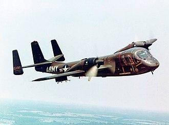Grumman OV-1 Mohawk - An OV-1A Mohawk of the US Army