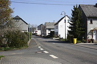Oberahr Place in Rhineland-Palatinate, Germany