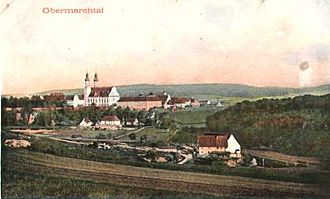 Marchtal Abbey - Obermarchtal 1907