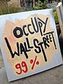 Occupy Wall Street sign in Queens, NYC.jpg
