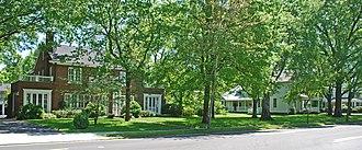 Ocoee Street Historic District - Historic homes of the Ocoee Street Historic District