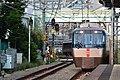 Odakyu 30000 series EXE Hakone at Minami-Shinjuku Station 2016-10-07(30357218120).jpg