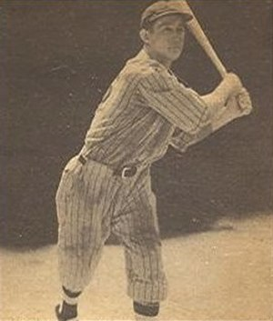 Odell Hale - Image: Odell Hale 1940 Play Ball card