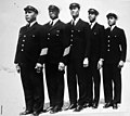 Officers of the Pea Island Coast Guard Station, North Carolina, 1942 (24252930686).jpg