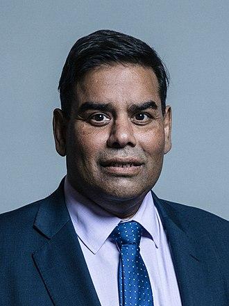 Khalid Mahmood (British politician) - Image: Official portrait of Mr Khalid Mahmood crop 2