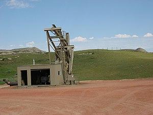 Ölförderung im westlichen North Dakota