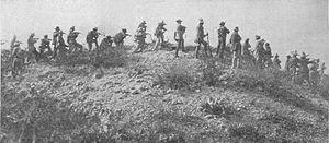 Ojinaga - Battle in Ojinaga with General Toribio Ortega's troops opening fire on federals.
