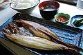 Okhostk atka mackerel,hokke-yakizakana-teisyoku,syari-town,japan.JPG