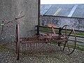 Old farm implement, Glenhordial (1) - geograph.org.uk - 1181021.jpg